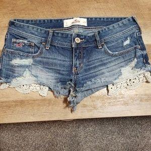 Hollister Jean shorts sz 7